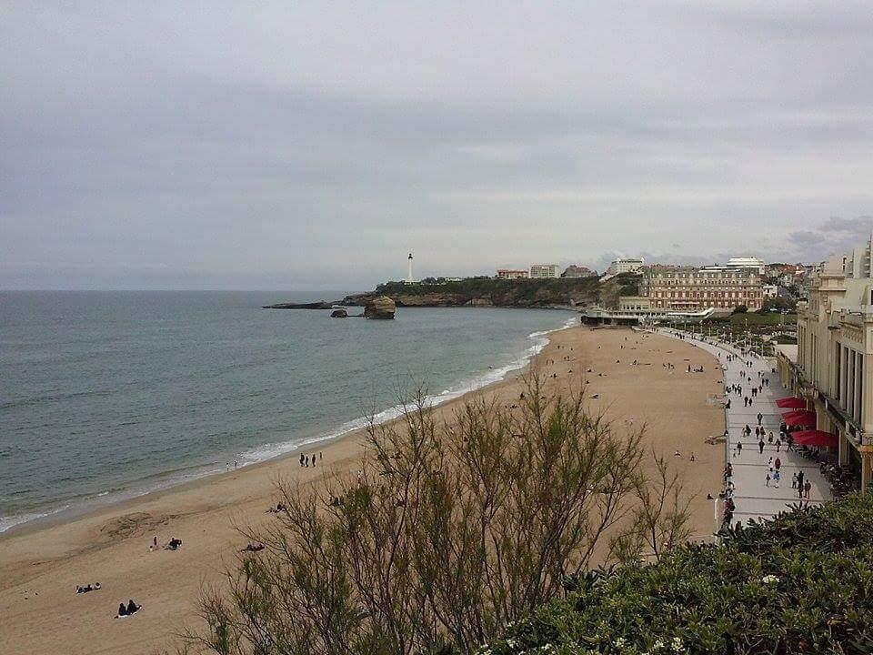 La Grand Plage - Biarritz, France.