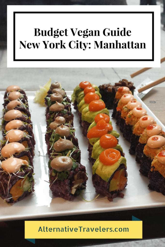 Budget Vegan Guide to New York City: Cheap vegan food in NYC