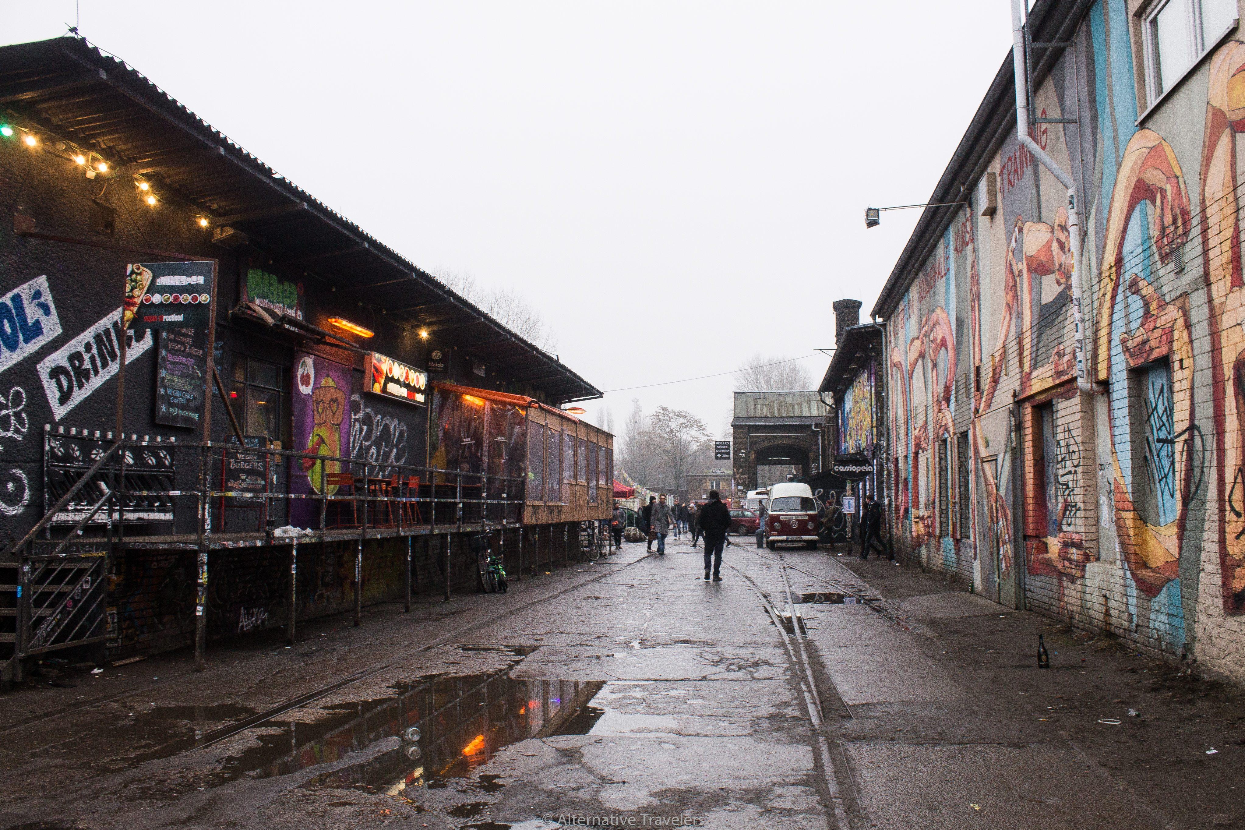 RAW Gelande - Unusual Berlin | AlternativeTravelers.com