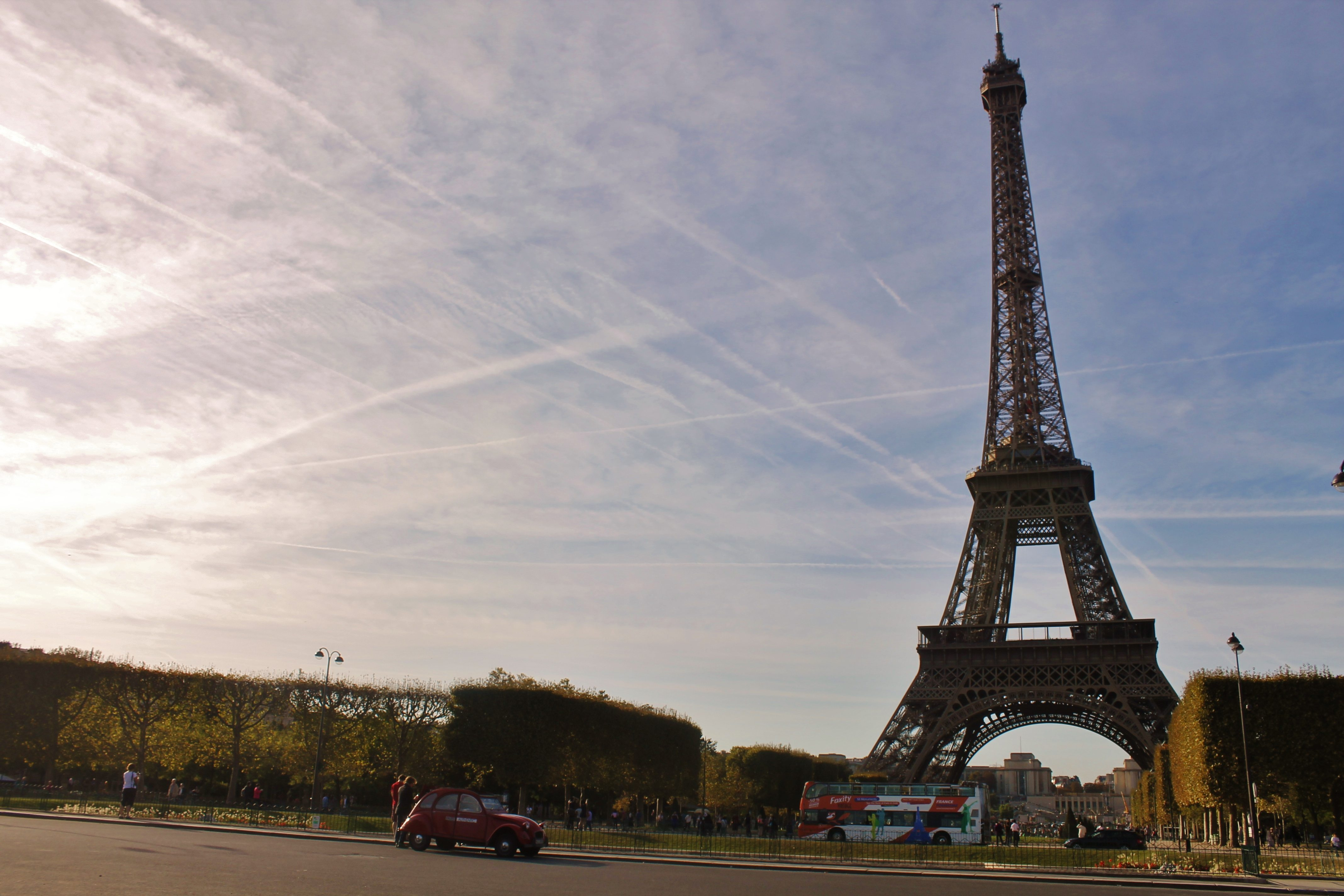 Eiffel Tower in Paris, one of the Most Vegan-Friendly Cities in Europe - AlternativeTravelers.com