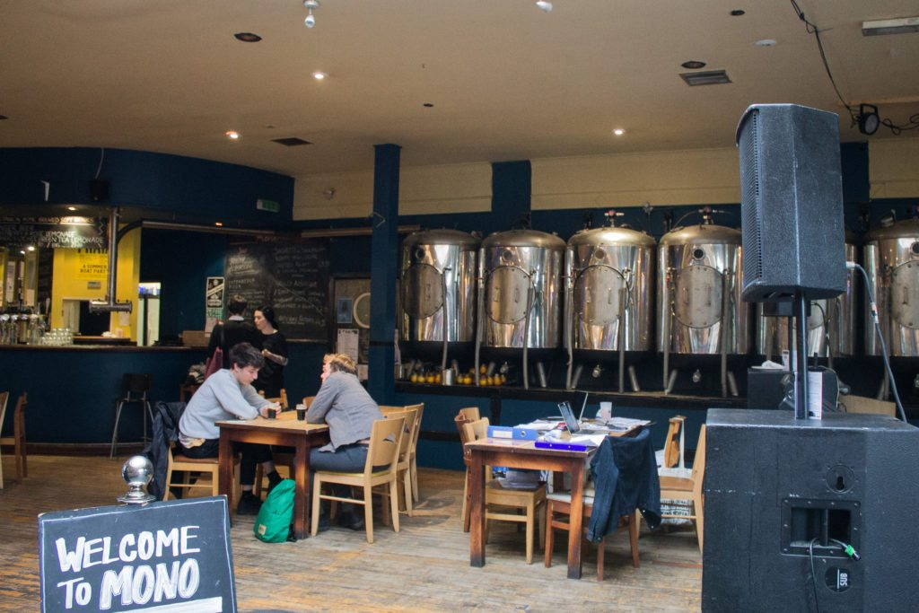 vegan Glasgow includes beer!