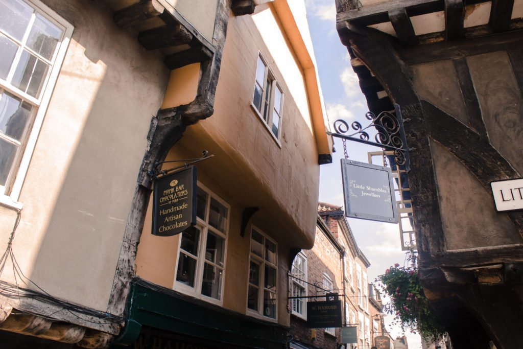 The Shambles, one of the free attractions in York