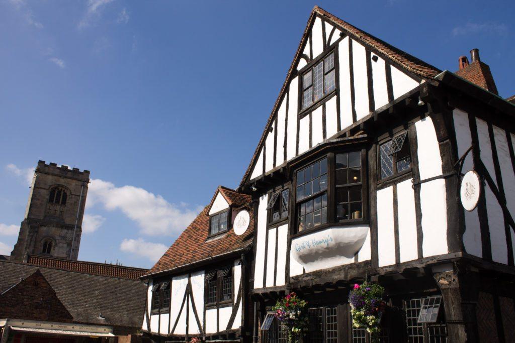Historic building in York