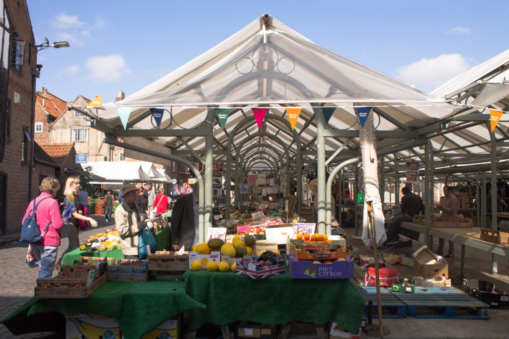 York's produce market