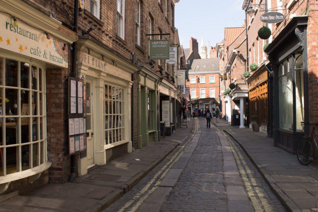 The Snickleways - alleys in York