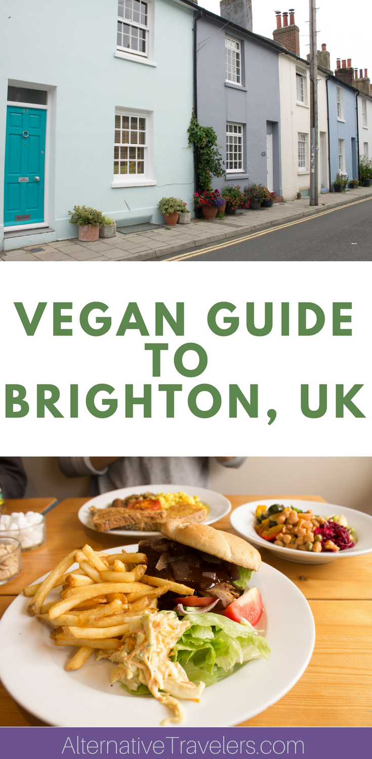 Brighton is one of the best vegan cities in the UK, and possibly all of Europe! Learn about the best vegan restaurants in Brighton, vegan cafes, vegan friendly pubs, and more! Read our guide to learn about the highlights of vegan Brighton. #VeganTravel #Brighton #Vegan