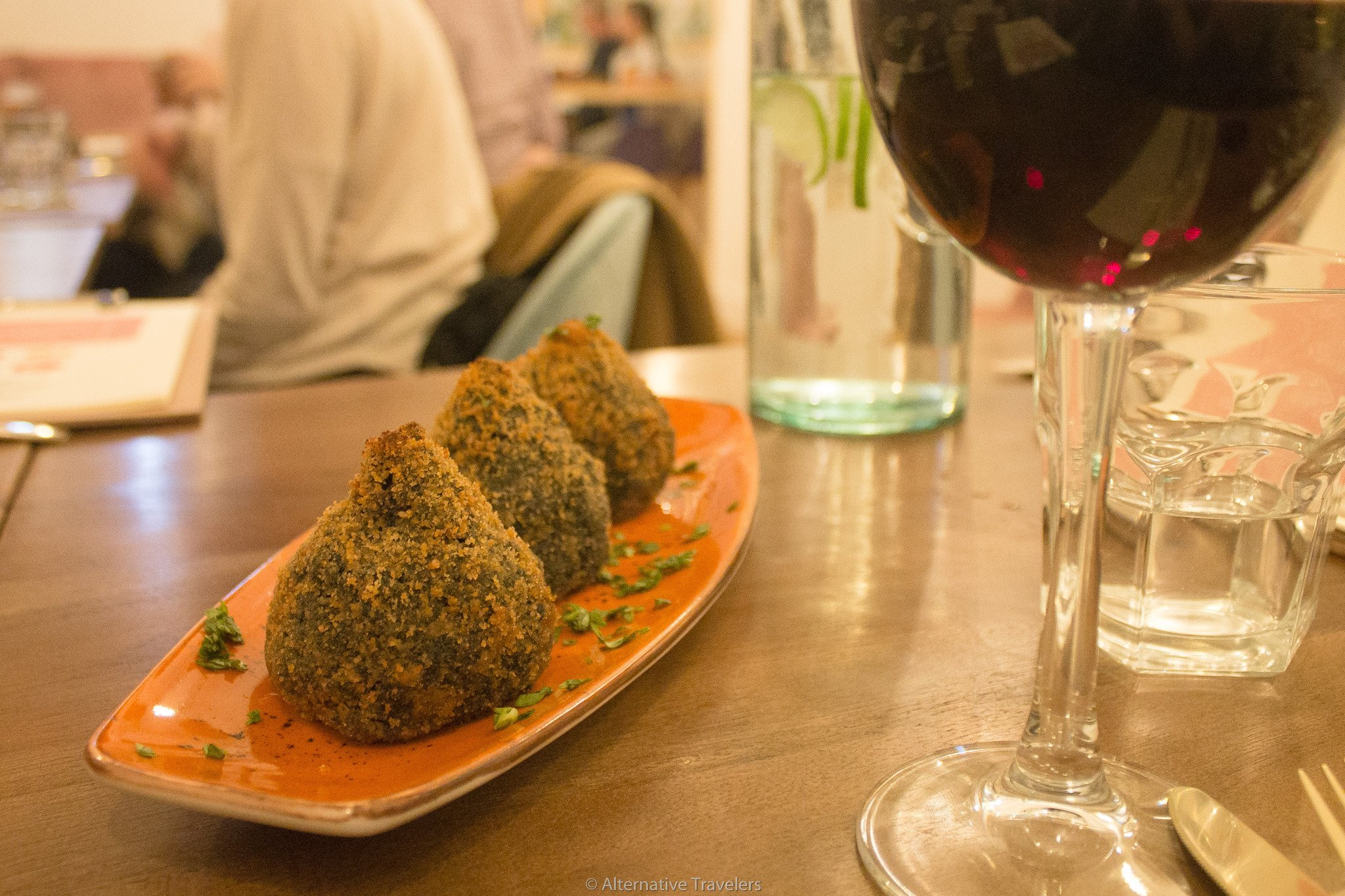 Arancini della Nona at La Tia Carlota | AlternativeTravelers.com