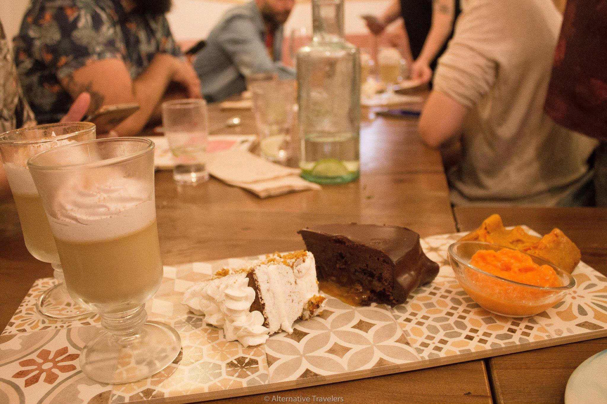 La Tia Carlota desserts | AlternativeTravelers.com